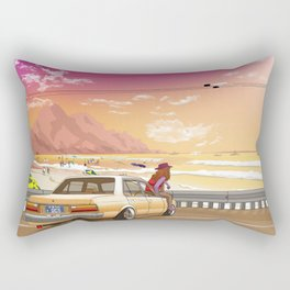 A time to reflect. Rectangular Pillow