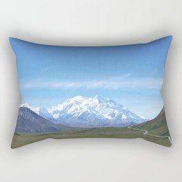 Mount Denali Rectangular Pillow