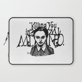 Killing You in My Mind Laptop Sleeve