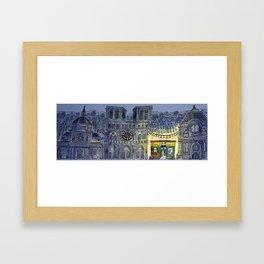 Hark! 'tis Paris! Framed Art Print