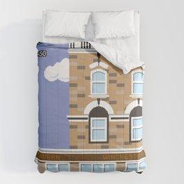 8bit Shaun Of The Dead Comforters