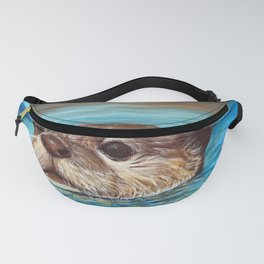 River Otter Painting Fanny Pack