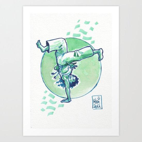 Capoeira 164 Art Print