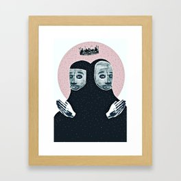 IT CAN BE REAL IF YOU WANT IT TO Framed Art Print