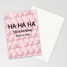 HA HA HA Stationery Cards