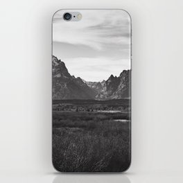 Dark Mountains iPhone Skin