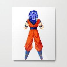 Lion fighter Metal Print