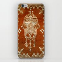 hamsa iPhone & iPod Skins featuring Hamsa by Our Folk Life