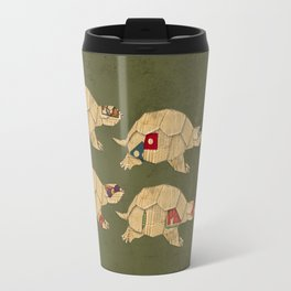 Heroes in a pizza box... Turtle Power! Travel Mug