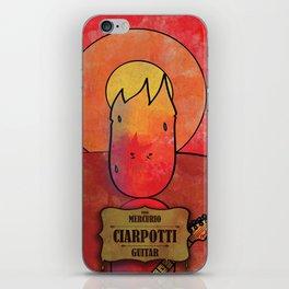 Ciarpotti from Mercury (Guitar) iPhone Skin