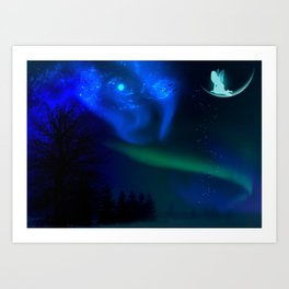 Aurora By Marie Plourde Art Print