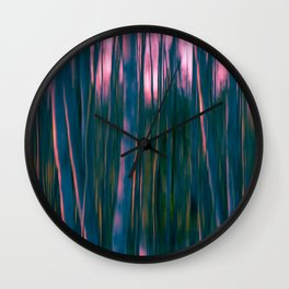 In the forest XIX Wall Clock