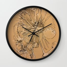 Dandelion #1 Wall Clock