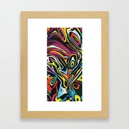 Summer Towel Framed Art Print
