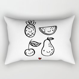 Love Fruits Rectangular Pillow
