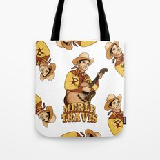 Merle Travis Tote Bag