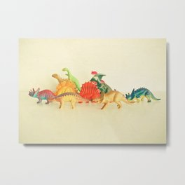 Walking With Dinosaurs Metal Print