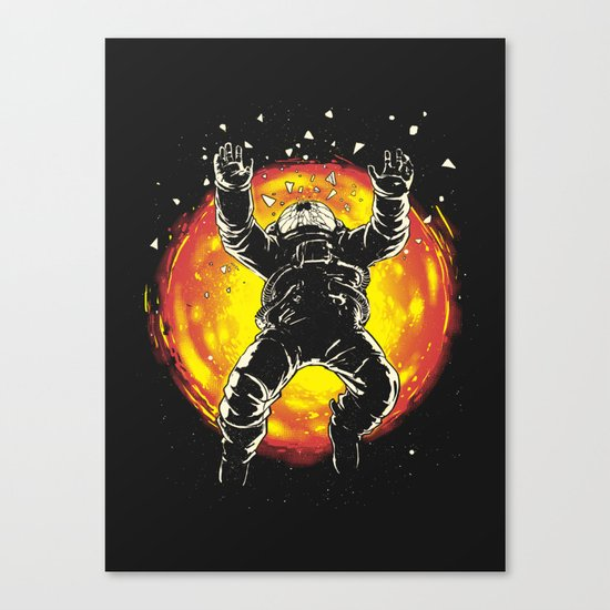 Lost in the space Canvas Print