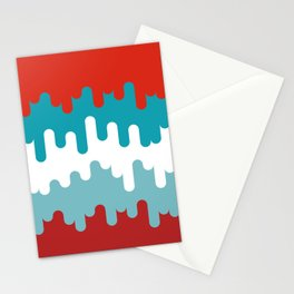 Drips and Drops - Smurf Stationery Cards