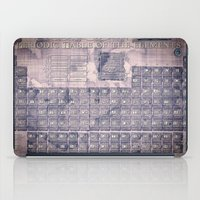periodic table iPad Cases featuring periodic table of elements by Bekim ART