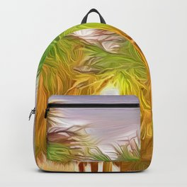 Palms Against the St. Pete Sky Backpack