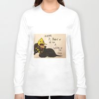 lemongrab Long Sleeve T-shirts featuring A Life Time on the Hips by Matty_Cat
