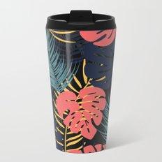 Tropical pattern 048 Metal Travel Mug