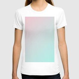 Pink Cupid gradient color T-shirt
