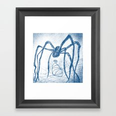 spider's food Framed Art Print