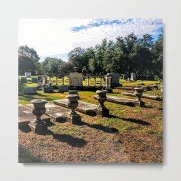 Grove Hill Cemetery, Dallas TX Metal Print