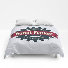 No. 1 Robot Fucker Comforters