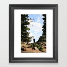 Sierra Stranger Sky Framed Art Print