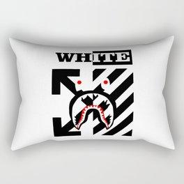 X Off White bape Rectangular Pillow