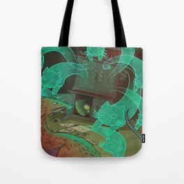 The Boy Who Drew Cats  Tote Bag