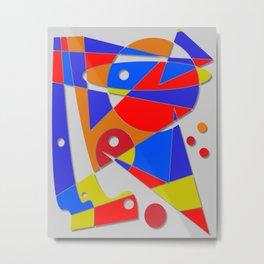 Abstract #89 Metal Print