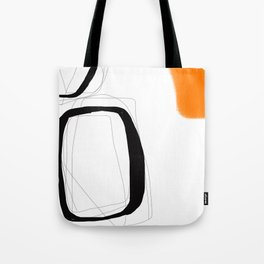 Blocks-Orange Crowd  Tote Bag