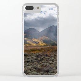 Fall Colors on La Plata Peak Clear iPhone Case