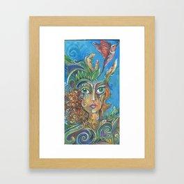 Open Mind Framed Art Print
