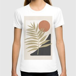 Tropical Leaf- Abstract Art 9 T-shirt