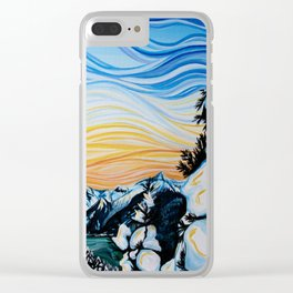 Whistler Snow Clear iPhone Case
