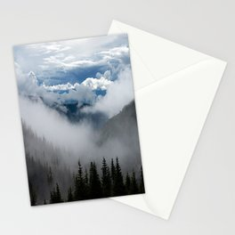 MOUNTAIN, FOREST AND FOG Stationery Cards
