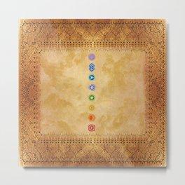 Chakras Kali | Beyond the time  Metal Print