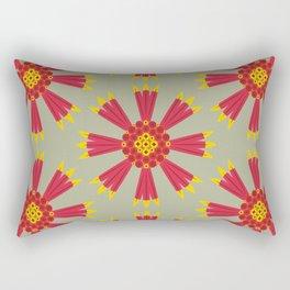 MCM Firewheel Rectangular Pillow