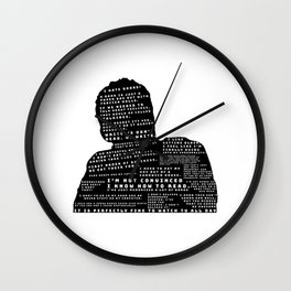 Nick Miller Quotes Wall Clock
