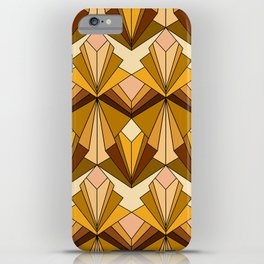 Art Deco meets the 70s iPhone Case