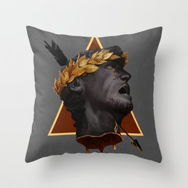 Fool's Gold Throw Pillow