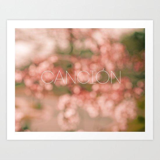 Cancion Art Print