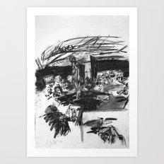 Life Drawing Studio Art Print
