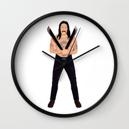 Sharp Trejo Wall Clock