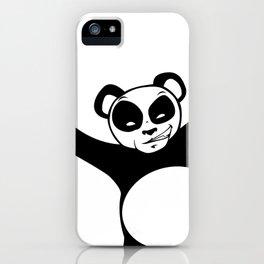 Panda Love Hug iPhone Case